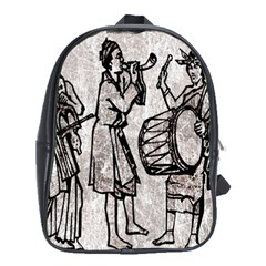 Man Ethic African People Collage School Bag (xl)