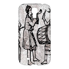 Man Ethic African People Collage Samsung Galaxy S4 I9500/i9505 Hardshell Case