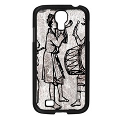 Man Ethic African People Collage Samsung Galaxy S4 I9500/ I9505 Case (black)