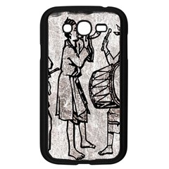 Man Ethic African People Collage Samsung Galaxy Grand Duos I9082 Case (black)