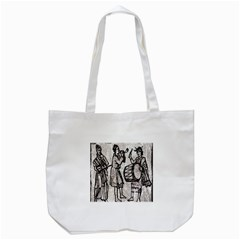 Man Ethic African People Collage Tote Bag (white)