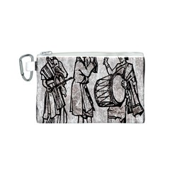 Man Ethic African People Collage Canvas Cosmetic Bag (s)