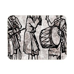 Man Ethic African People Collage Double Sided Flano Blanket (mini)