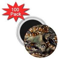 Texture Textile Beads Beading 1 75  Magnets (100 Pack)