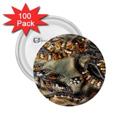 Texture Textile Beads Beading 2 25  Buttons (100 Pack)