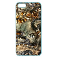 Texture Textile Beads Beading Apple Seamless Iphone 5 Case (color)