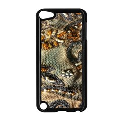 Texture Textile Beads Beading Apple Ipod Touch 5 Case (black)