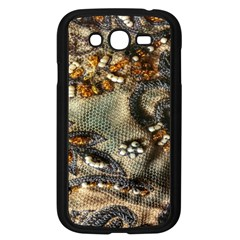 Texture Textile Beads Beading Samsung Galaxy Grand Duos I9082 Case (black)