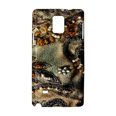 Texture Textile Beads Beading Samsung Galaxy Note 4 Hardshell Case