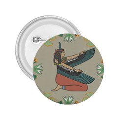 Egyptian Woman Wings Design 2 25  Buttons