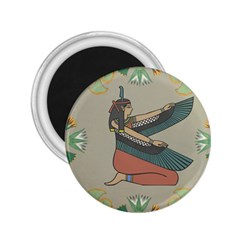 Egyptian Woman Wings Design 2 25  Magnets