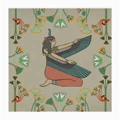 Egyptian Woman Wings Design Medium Glasses Cloth