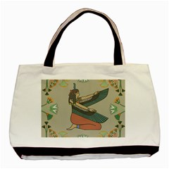 Egyptian Woman Wings Design Basic Tote Bag (two Sides)
