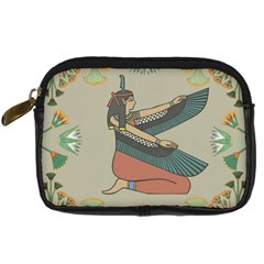 Egyptian Woman Wings Design Digital Camera Cases