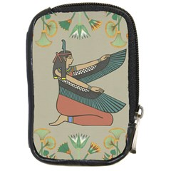 Egyptian Woman Wings Design Compact Camera Cases
