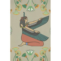 Egyptian Woman Wings Design 5 5  X 8 5  Notebooks