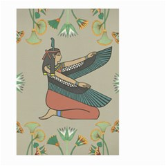Egyptian Woman Wings Design Large Garden Flag (two Sides)