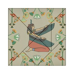 Egyptian Woman Wings Design Acrylic Tangram Puzzle (6  X 6 )