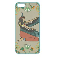 Egyptian Woman Wings Design Apple Seamless Iphone 5 Case (color)
