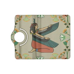 Egyptian Woman Wings Design Kindle Fire Hd (2013) Flip 360 Case