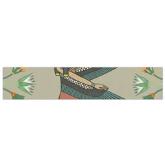 Egyptian Woman Wings Design Small Flano Scarf