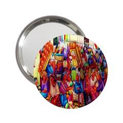 Guatemala Art Painting Naive 2 25  Handbag Mirrors
