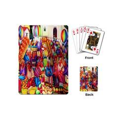 Guatemala Art Painting Naive Playing Cards (mini)
