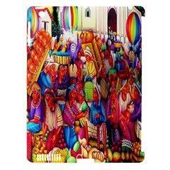 Guatemala Art Painting Naive Apple Ipad 3/4 Hardshell Case (compatible With Smart Cover)