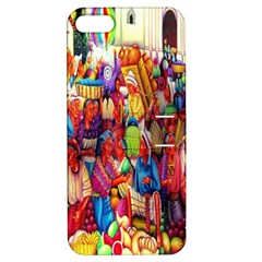 Guatemala Art Painting Naive Apple Iphone 5 Hardshell Case With Stand