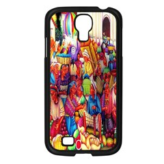 Guatemala Art Painting Naive Samsung Galaxy S4 I9500/ I9505 Case (black)
