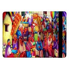 Guatemala Art Painting Naive Samsung Galaxy Tab Pro 12 2  Flip Case