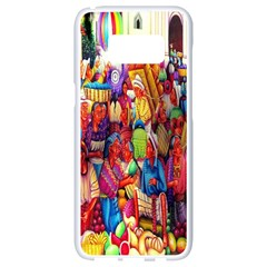 Guatemala Art Painting Naive Samsung Galaxy S8 White Seamless Case