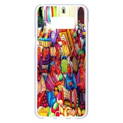 Guatemala Art Painting Naive Samsung Galaxy S8 Plus White Seamless Case
