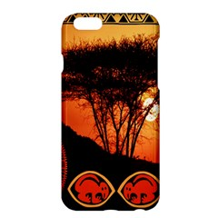 Africa Safari Summer Sun Nature Apple Iphone 6 Plus/6s Plus Hardshell Case
