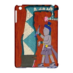 Mexico Puebla Mural Ethnic Aztec Apple Ipad Mini Hardshell Case (compatible With Smart Cover)