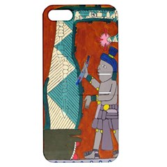 Mexico Puebla Mural Ethnic Aztec Apple Iphone 5 Hardshell Case With Stand