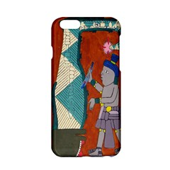 Mexico Puebla Mural Ethnic Aztec Apple Iphone 6/6s Hardshell Case