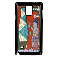 Mexico Puebla Mural Ethnic Aztec Samsung Galaxy Note 4 Case (black)
