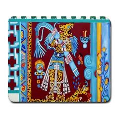 Mexico Puebla Mural Ethnic Aztec Large Mousepads