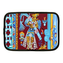 Mexico Puebla Mural Ethnic Aztec Netbook Case (medium)