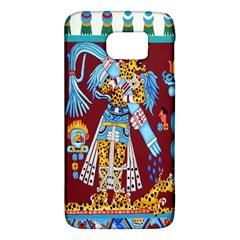 Mexico Puebla Mural Ethnic Aztec Galaxy S6