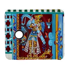 Mexico Puebla Mural Ethnic Aztec Galaxy S3 (flip/folio)