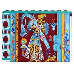Mexico Puebla Mural Ethnic Aztec Samsung Galaxy Tab 7  P1000 Flip Case