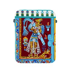 Mexico Puebla Mural Ethnic Aztec Apple Ipad 2/3/4 Protective Soft Cases