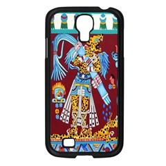 Mexico Puebla Mural Ethnic Aztec Samsung Galaxy S4 I9500/ I9505 Case (black)