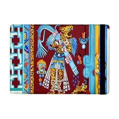 Mexico Puebla Mural Ethnic Aztec Ipad Mini 2 Flip Cases