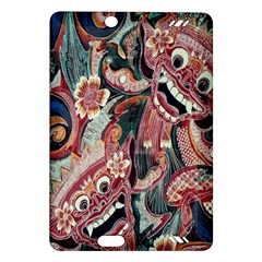 Indonesia Bali Batik Fabric Amazon Kindle Fire Hd (2013) Hardshell Case