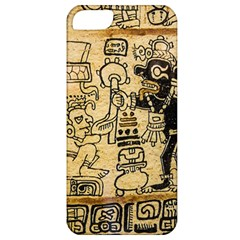 Mystery Pattern Pyramid Peru Aztec Font Art Drawing Illustration Design Text Mexico History Indian Apple Iphone 5 Classic Hardshell Case
