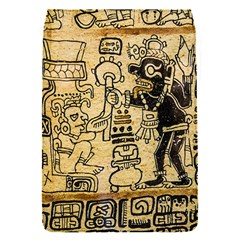 Mystery Pattern Pyramid Peru Aztec Font Art Drawing Illustration Design Text Mexico History Indian Flap Covers (s)