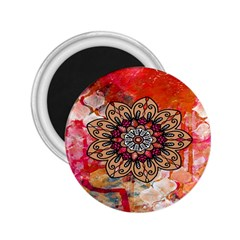 Mandala Art Design Pattern Ethnic 2 25  Magnets